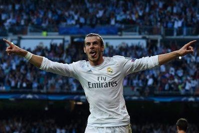 Real Madrid footballer Gareth Bale