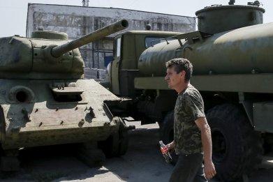 Soviet t34 tank