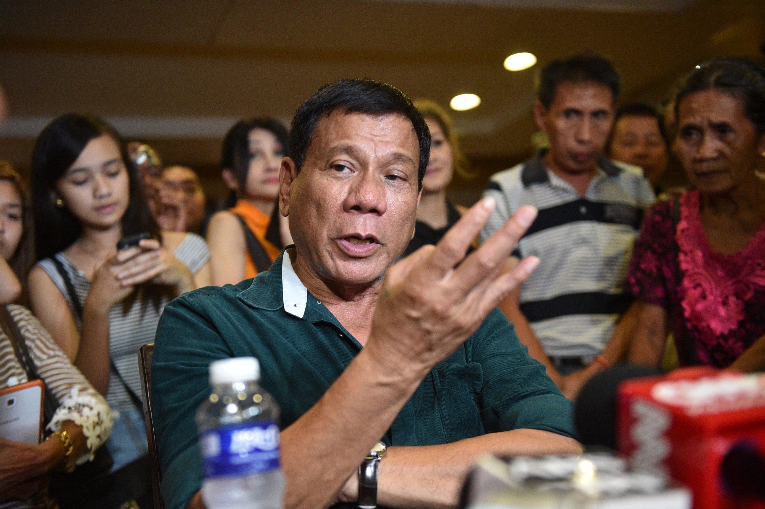 Filipino Trump Duterte Asia