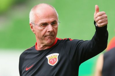 Former England manager Sven Goran Eriksson.