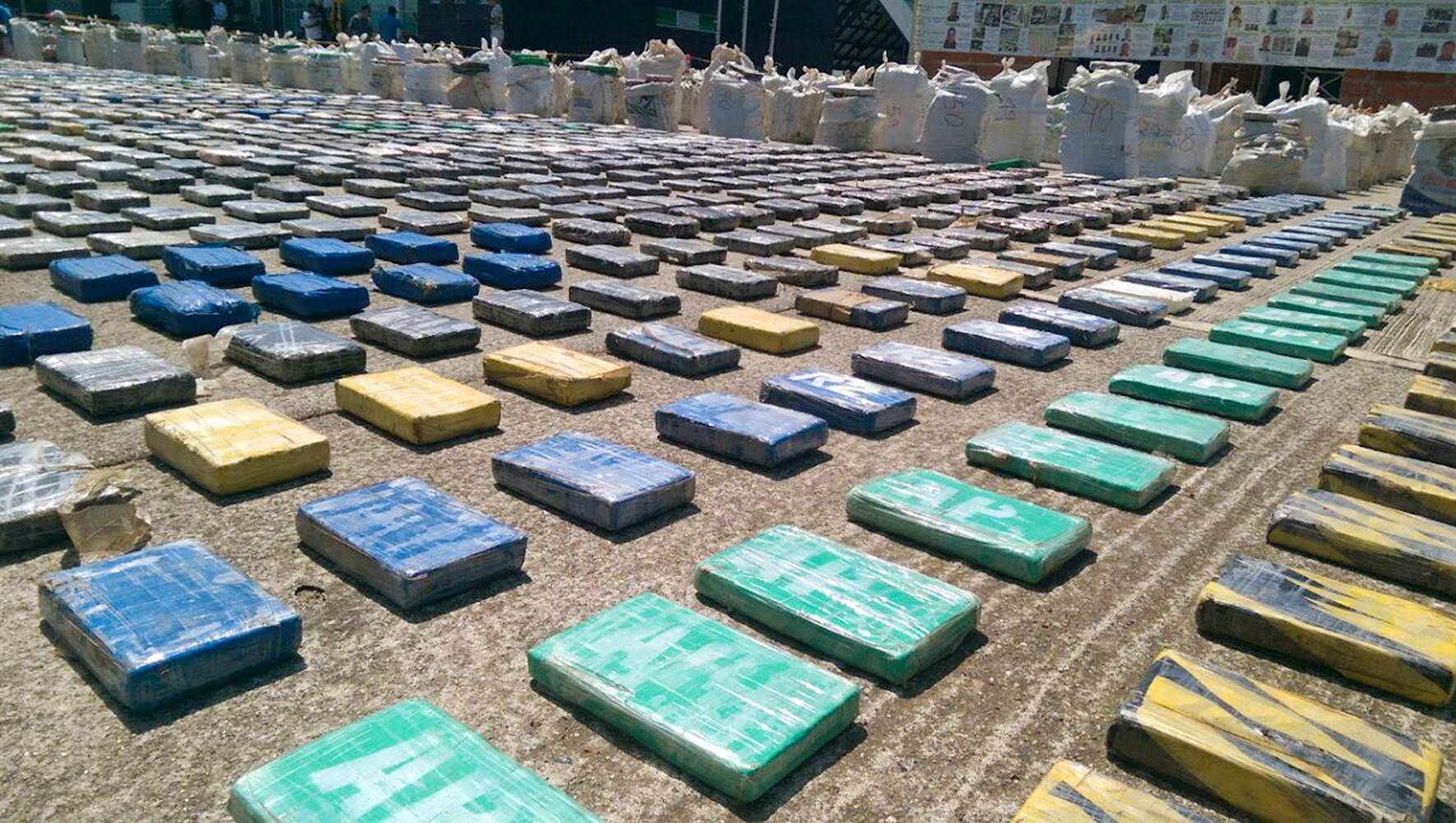 Colombia cocaine bust