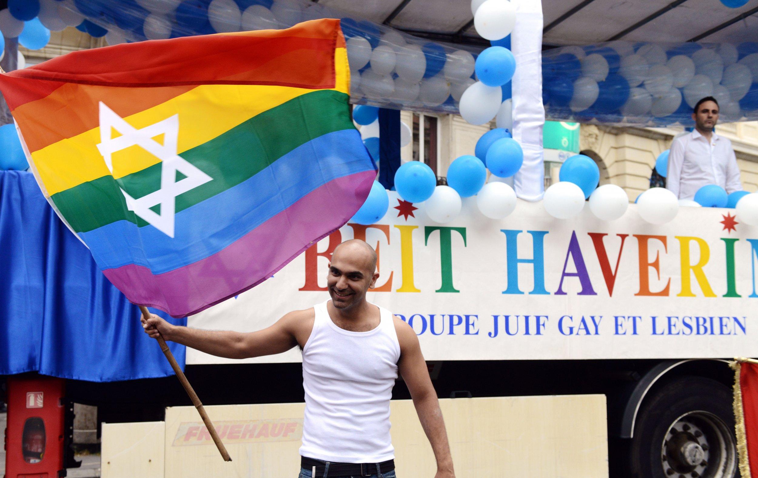 LGBT Jewish Protest