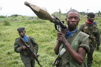 Congolese soldiers in Goma