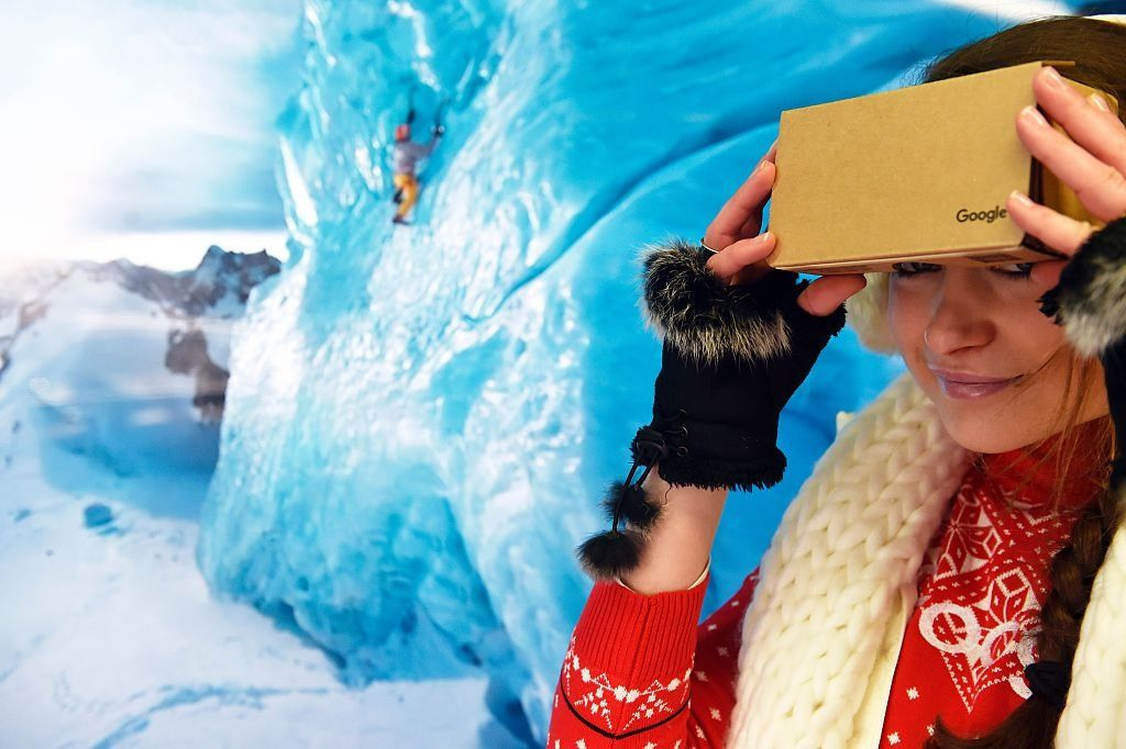 google virtual reality headset VR