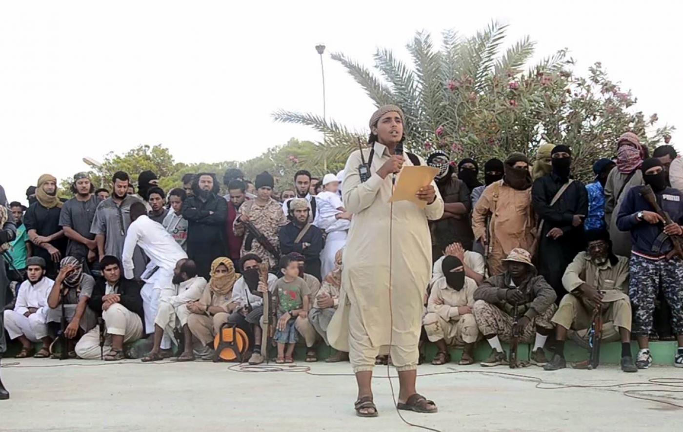 ISIS member in Sirte