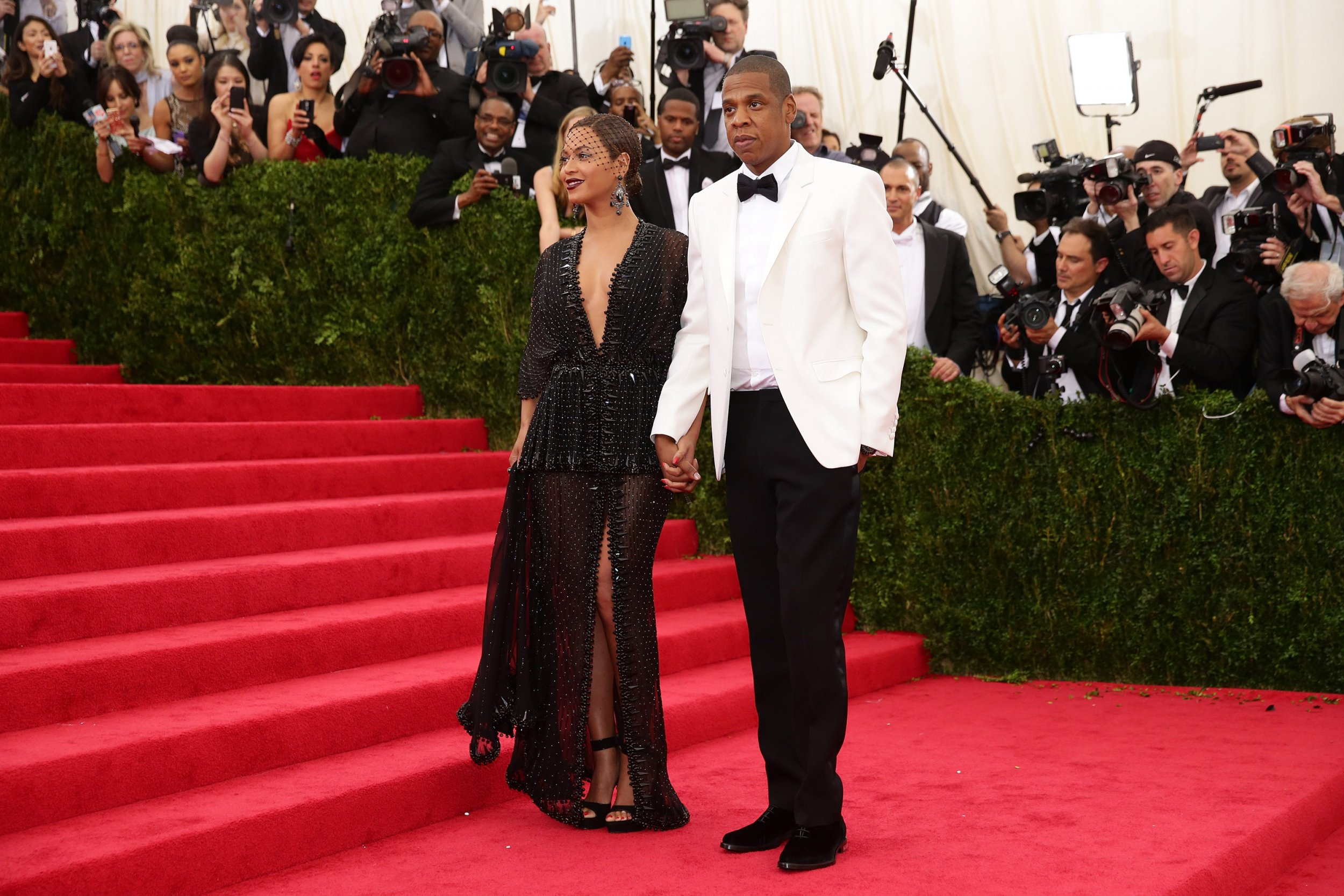 Beyonce and Jay Z in 2014
