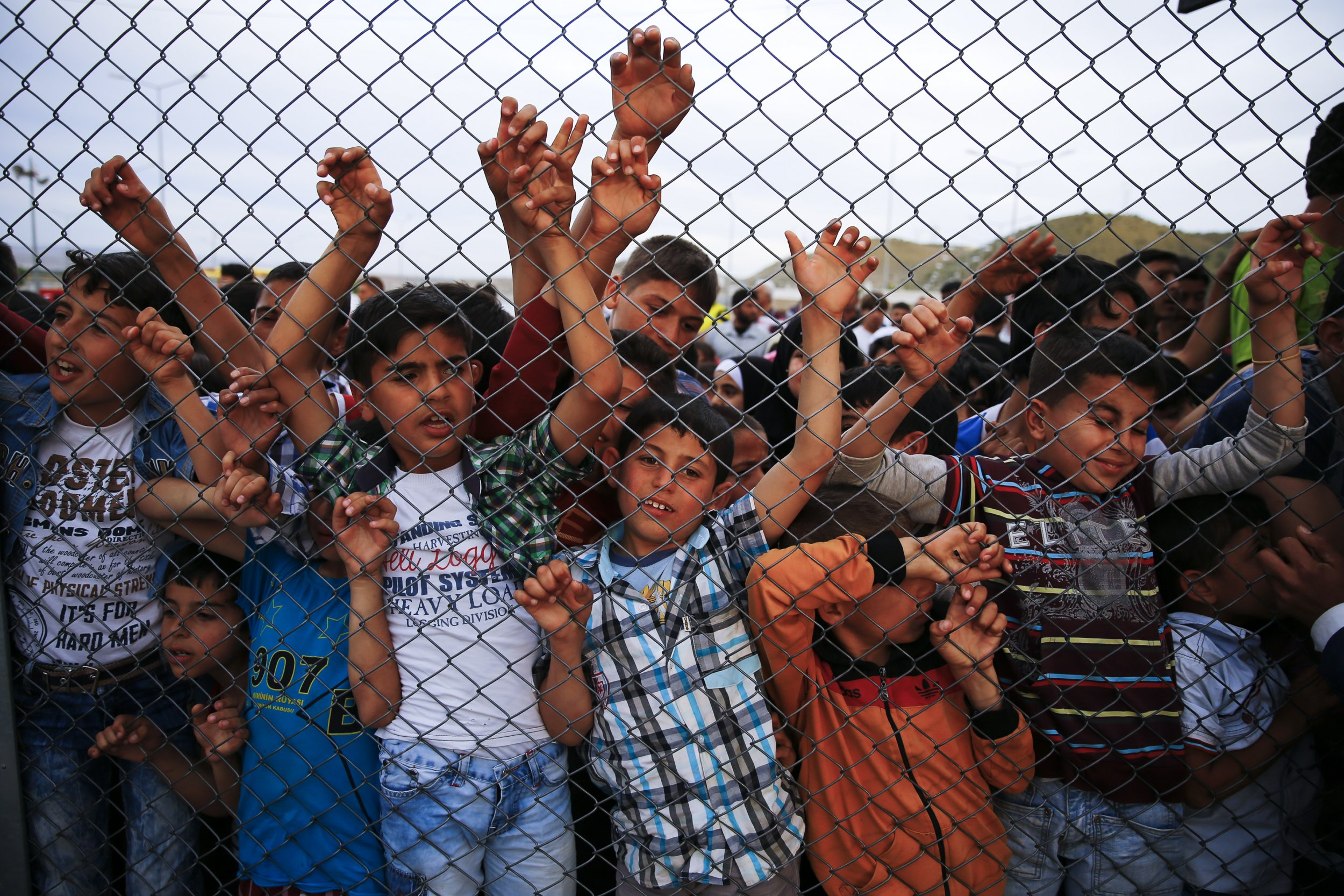 Refugee children in Turkey