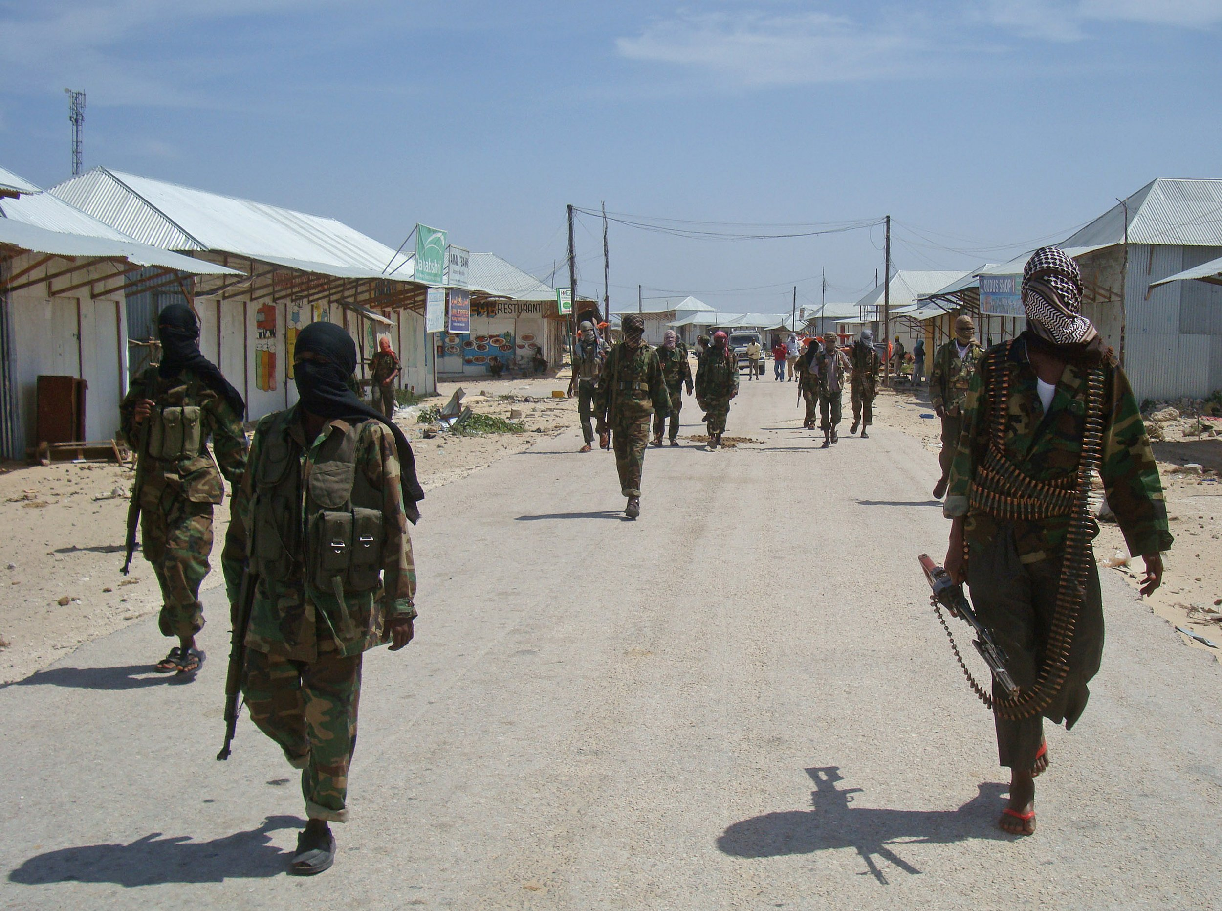 Al-Shabab recruits in Mogadishu