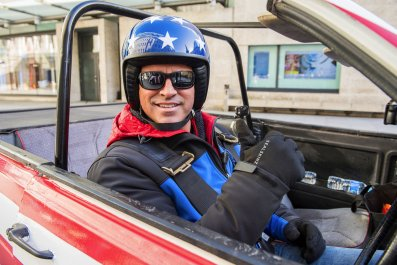 Matt LeBlanc on Top Gear