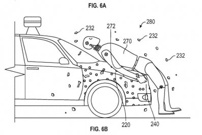google self-driving car patent crash