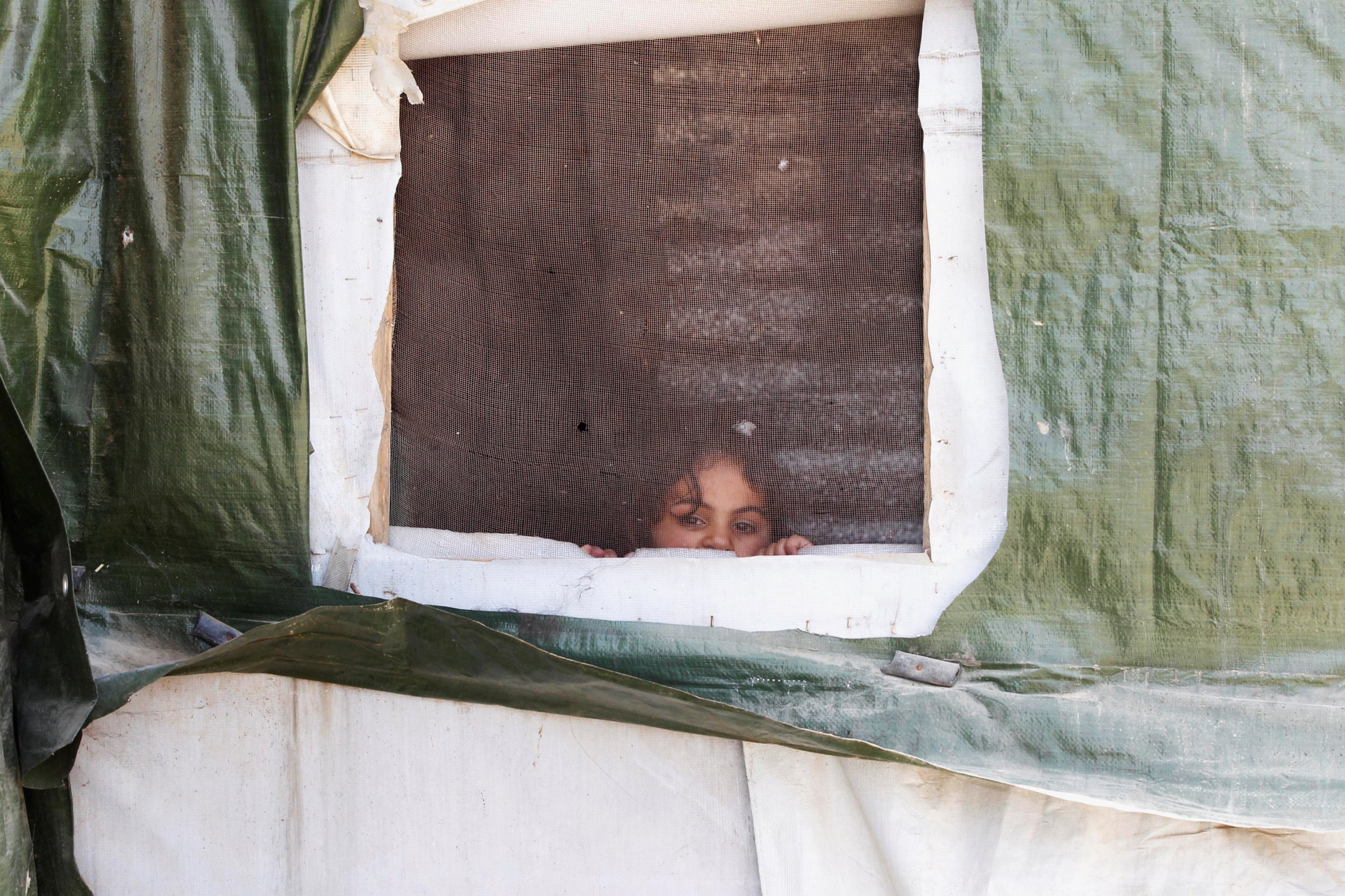 Syrian Refugee Girl