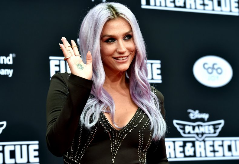Kesha in 2014