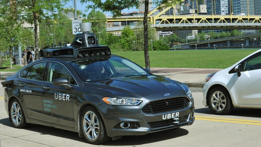 uber self-driving car driverless cars