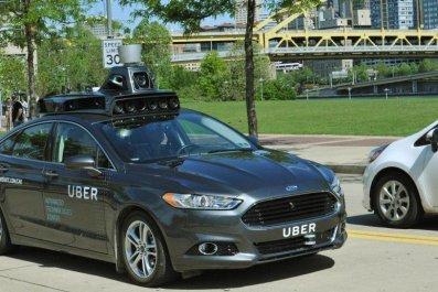 uber self-driving car driverless cars