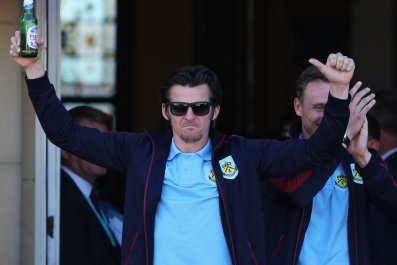 Burnley footballer Joey Barton.