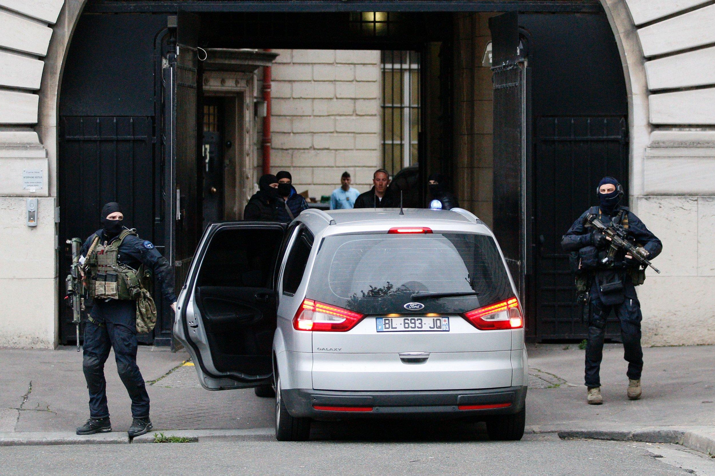 Paris Attacks suspect Salah Abdeslam convoy