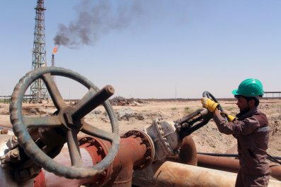 Oil Worker in Basra