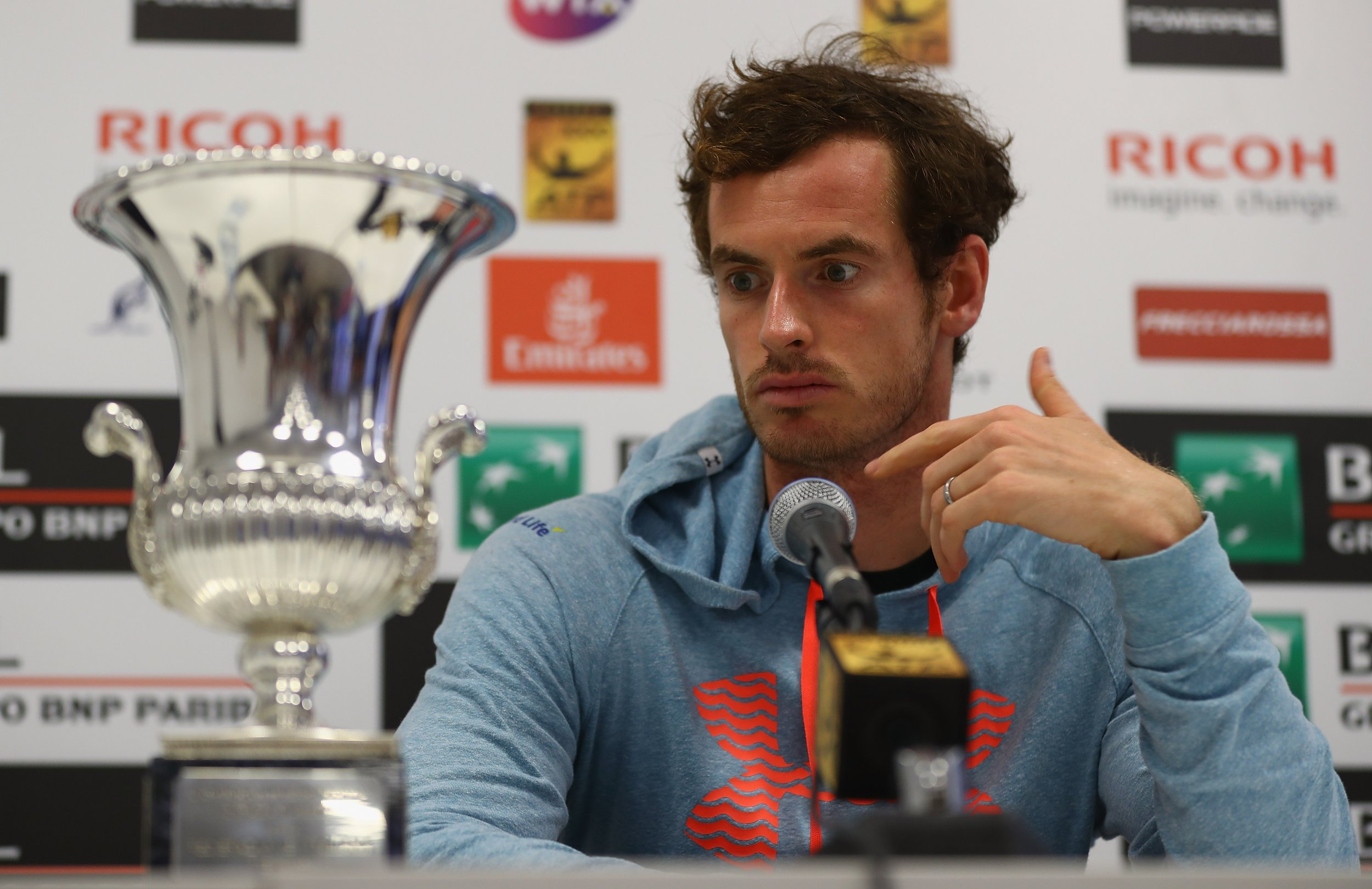 British No. 1 tennis player Andy Murray.