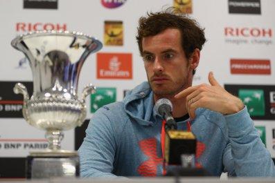 British No. 1 tennis player Andy Murray.