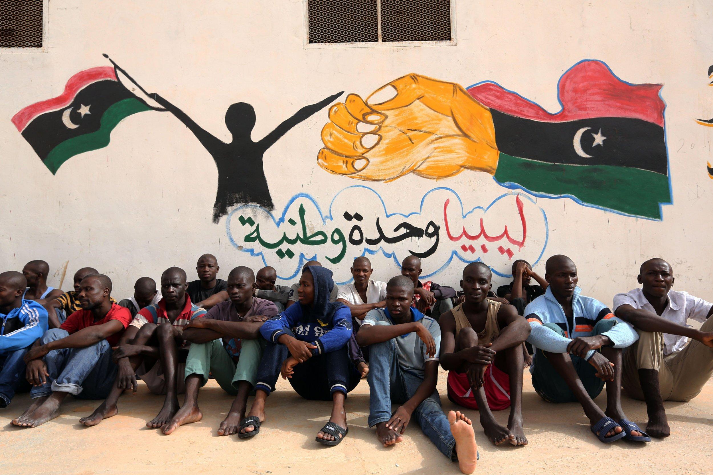 Libya illegal migrants