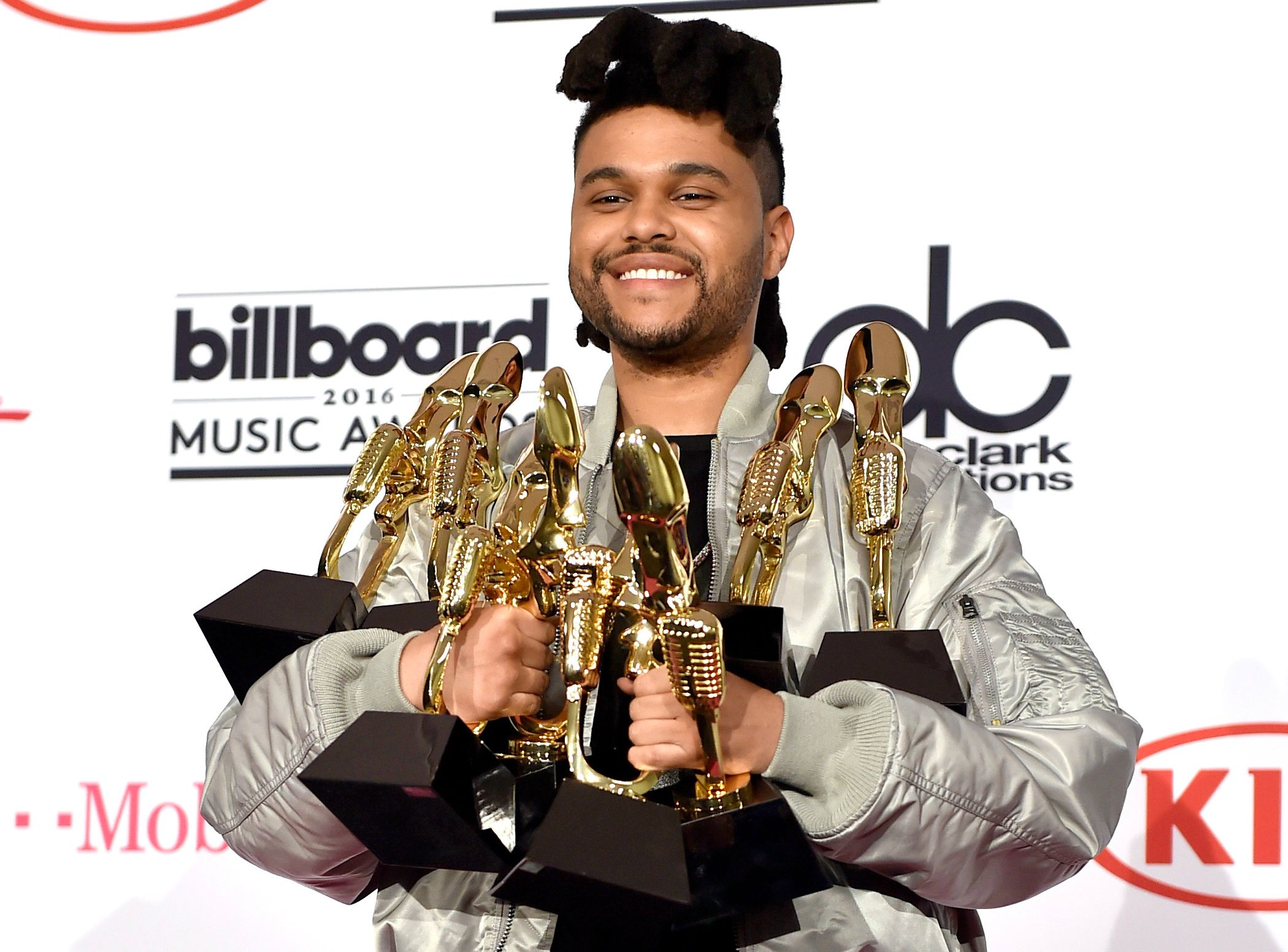 The Weeknd at Billboard Music Awards