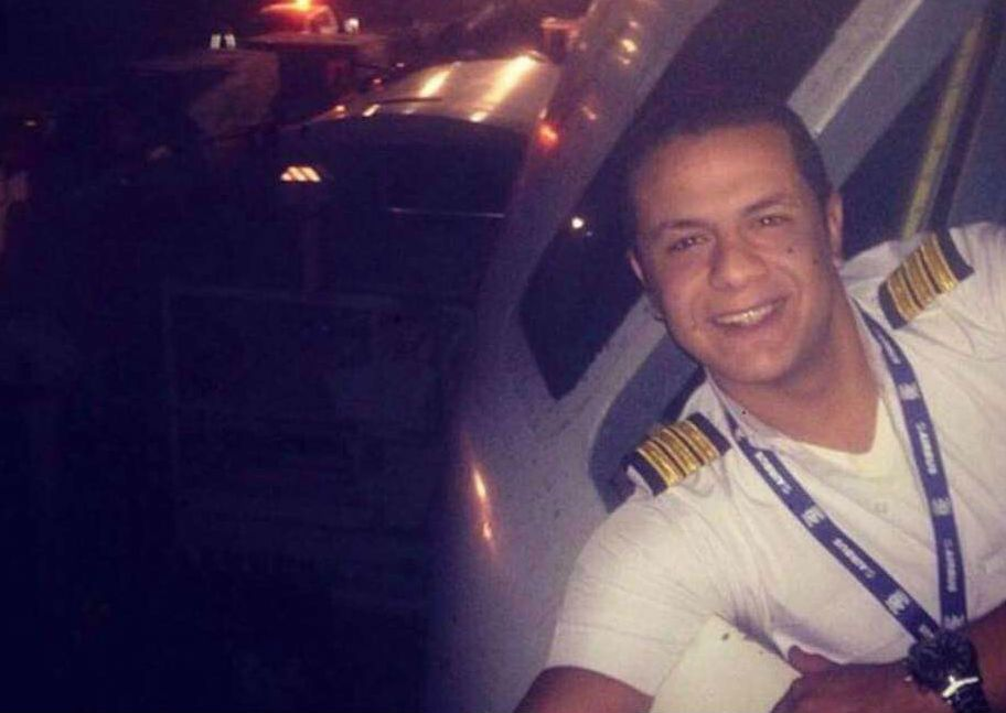 Mohamed Mamdouh, co-pilot of EgyptAir flight MS804