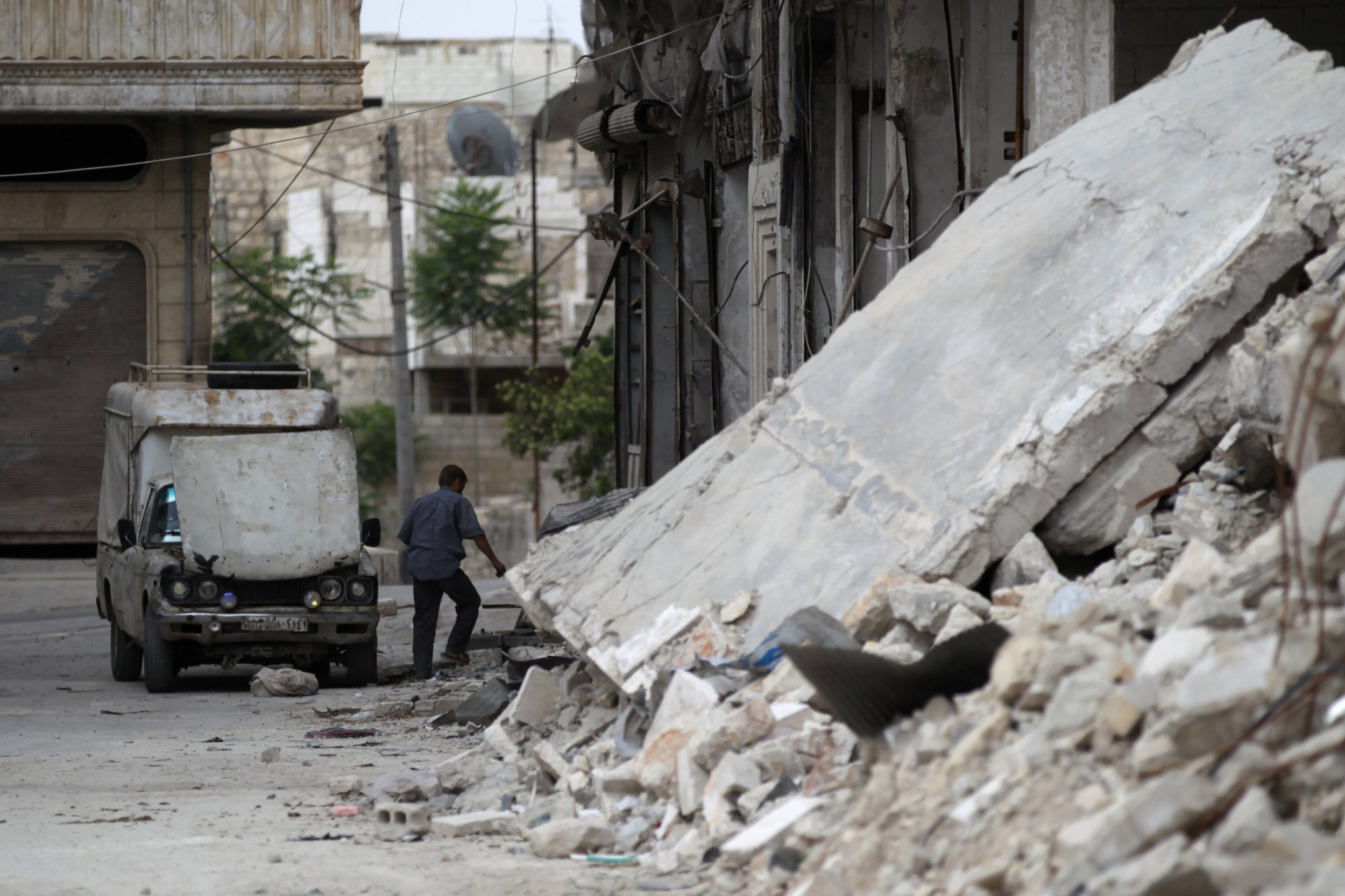 Truck in Syria