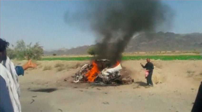 Drone strike on Taliban Leader