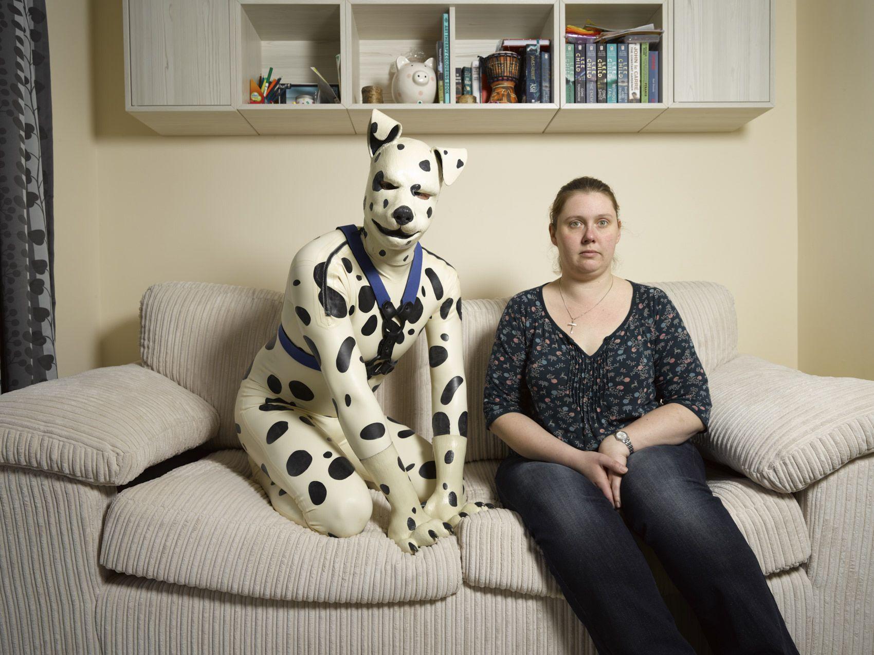 Spot (L), aka Tom, and his ex-fiancee Rachael