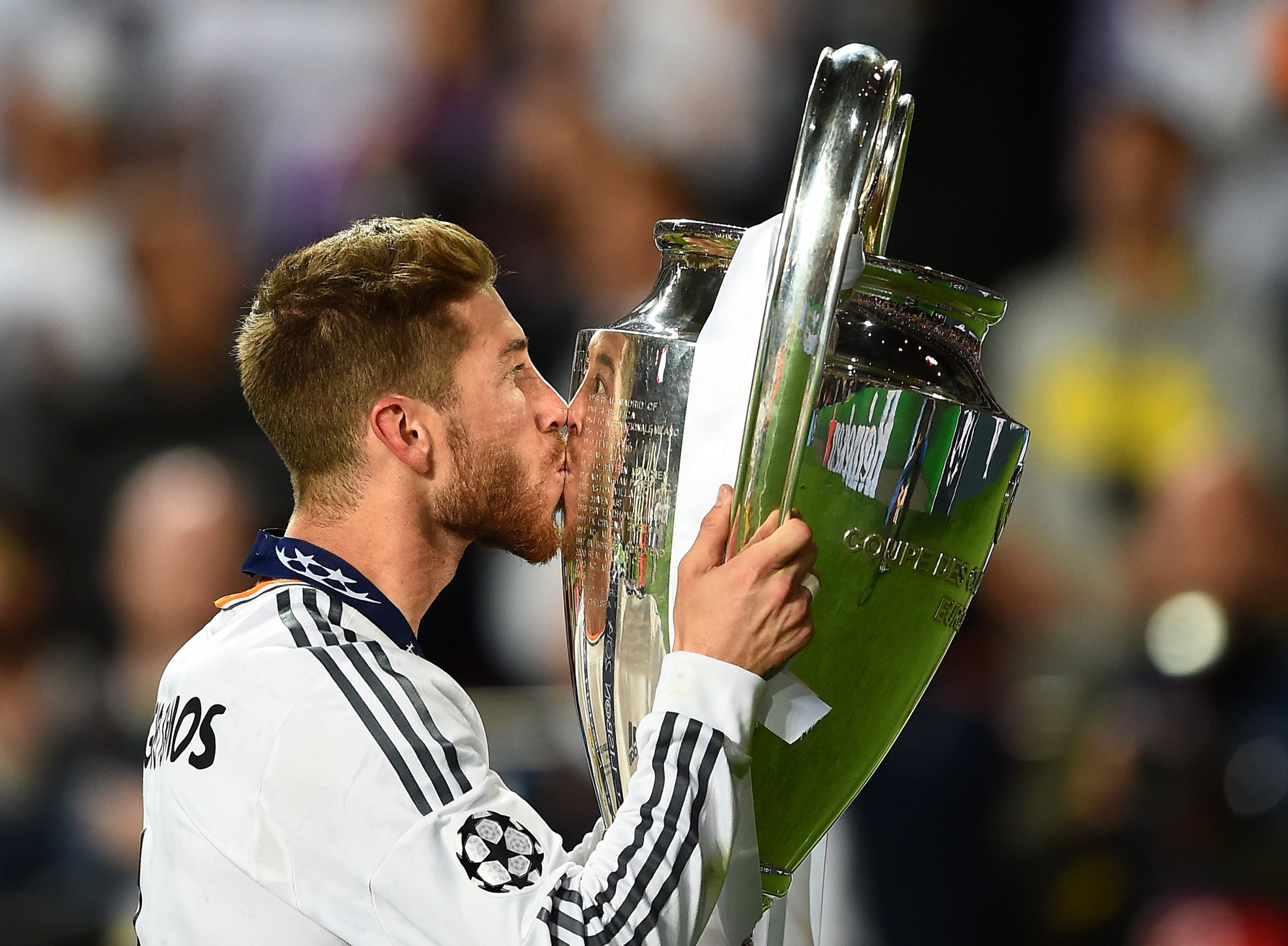 Ramos winning champions league for real madrid like - Sergio madrid ...