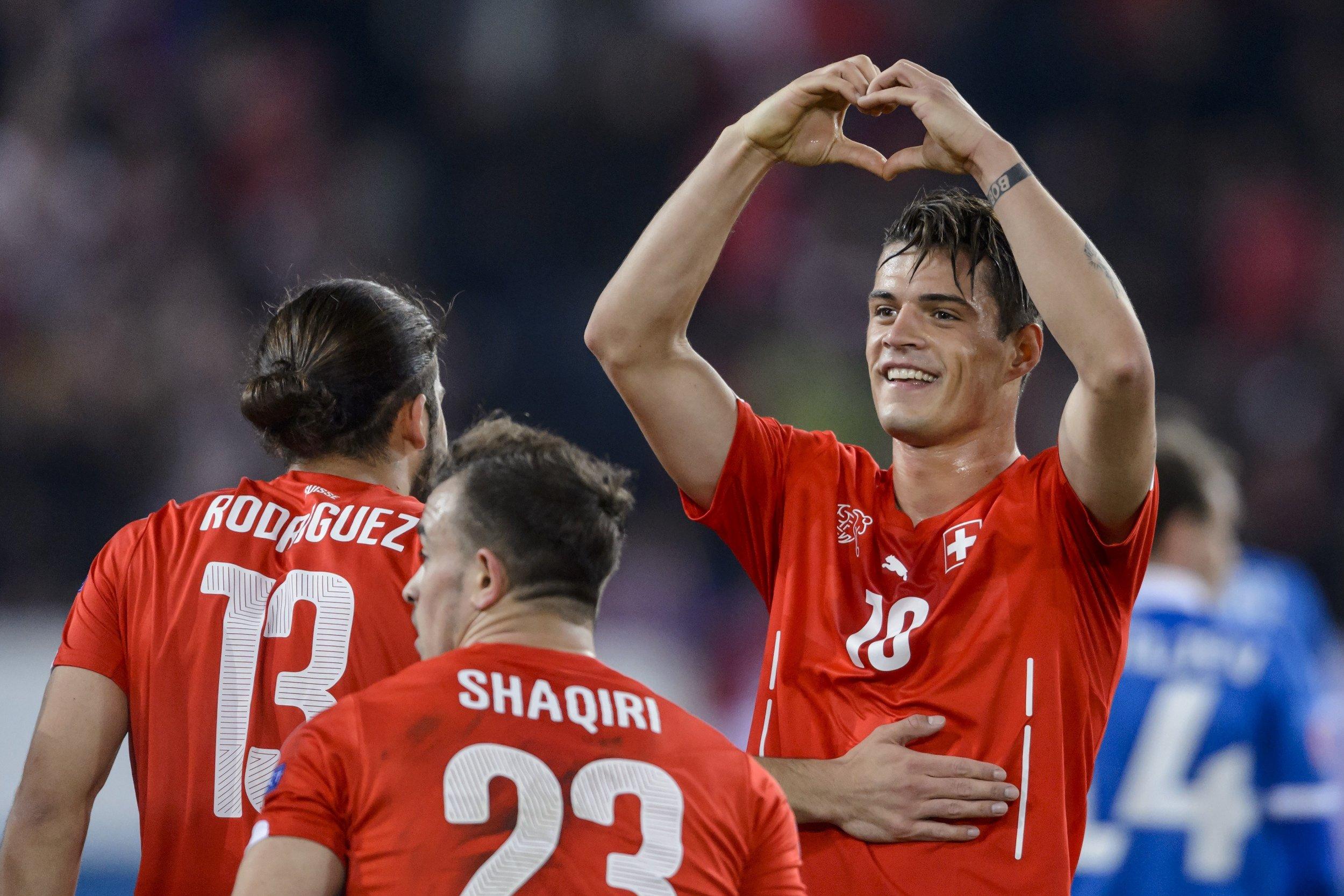 Arsenal News Gunners plete Signing of Granit Xhaka