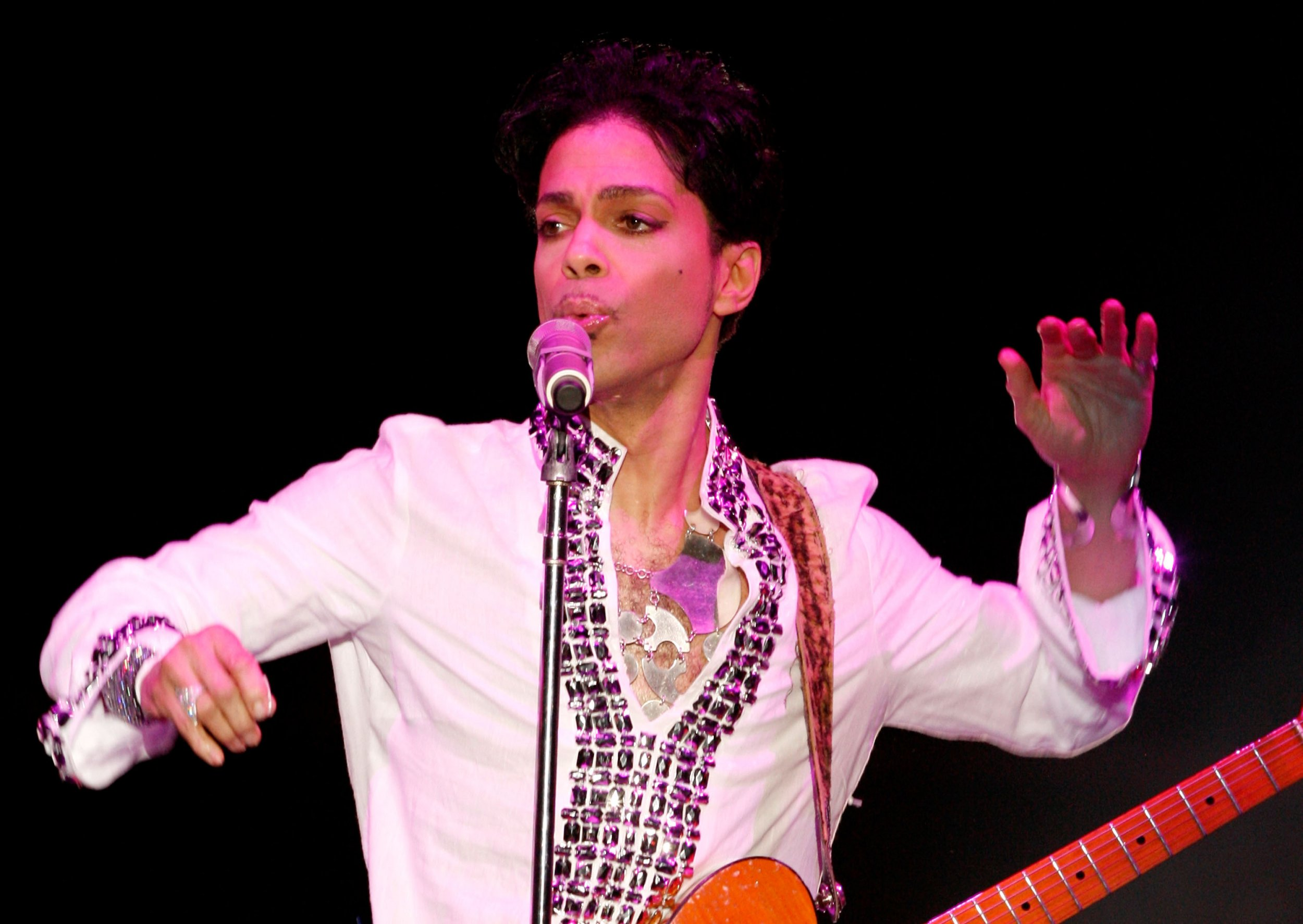 Prince in 2008