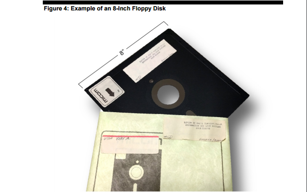 Nuclear weapons floppy disk