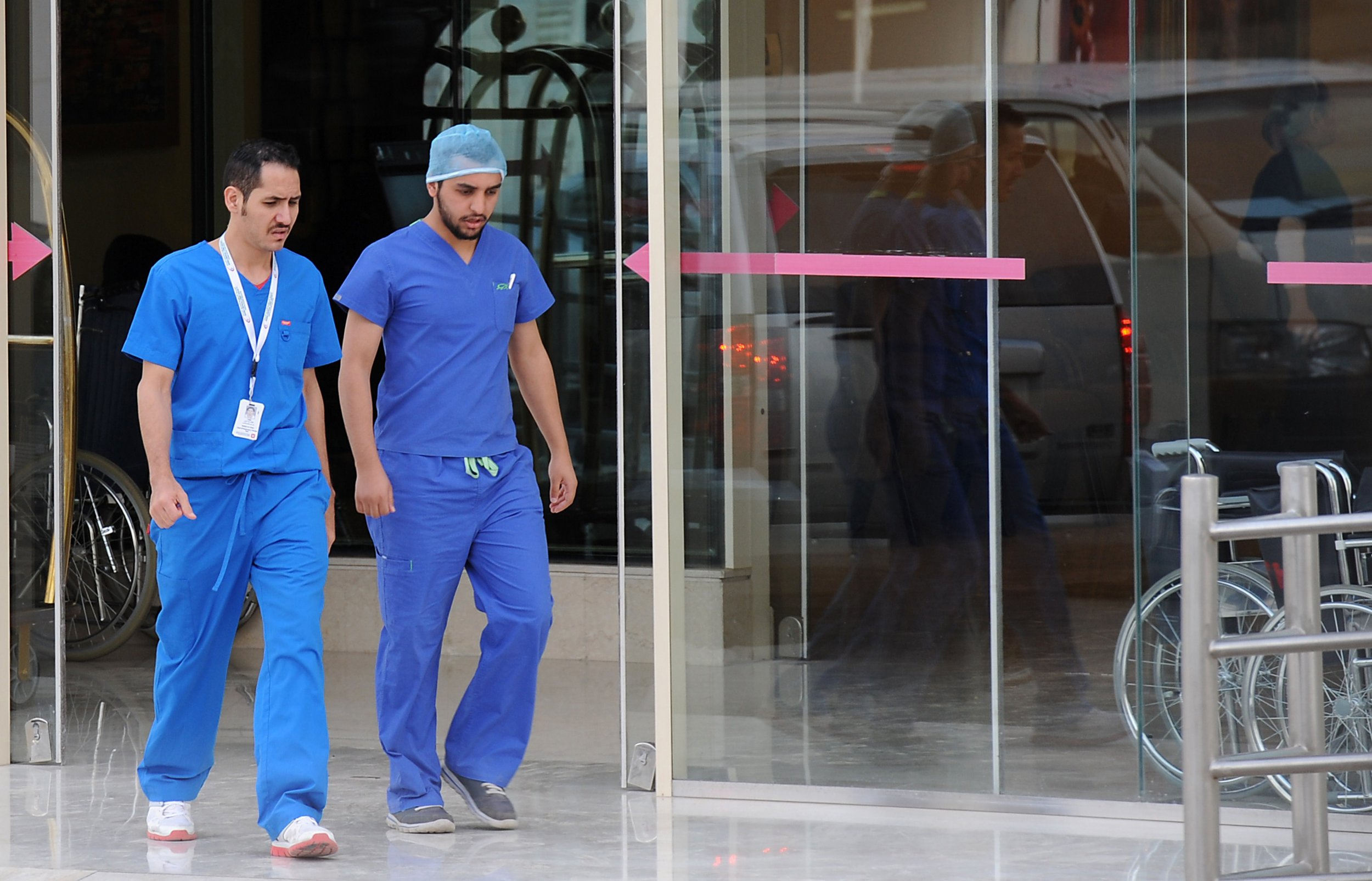 Saudi doctors in Riyadh