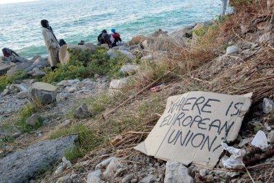 Refugees Mediterranean