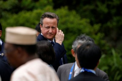 David Cameron at G7