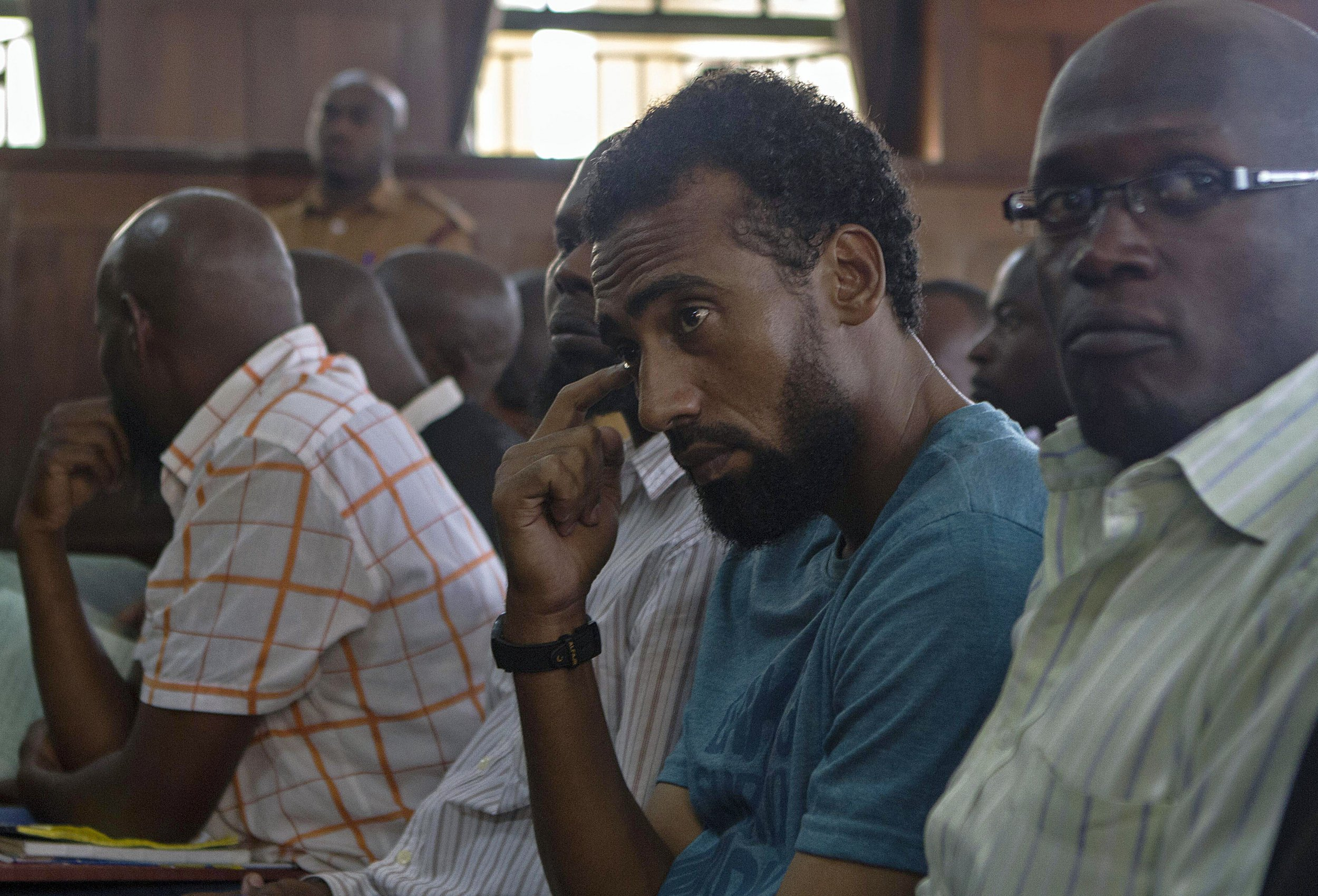 Uganda Al-Shabab bombing suspects.