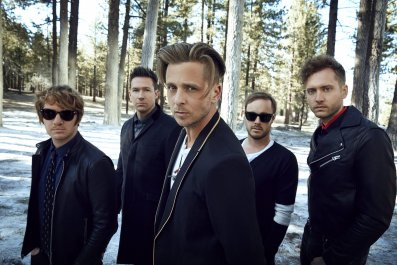 Ryan Tedder with OneRepublic