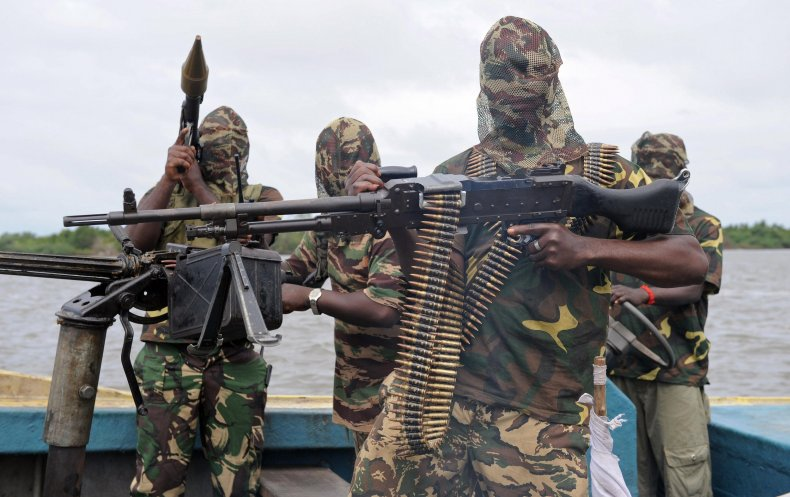 MEND fighters prepare for operation against military.