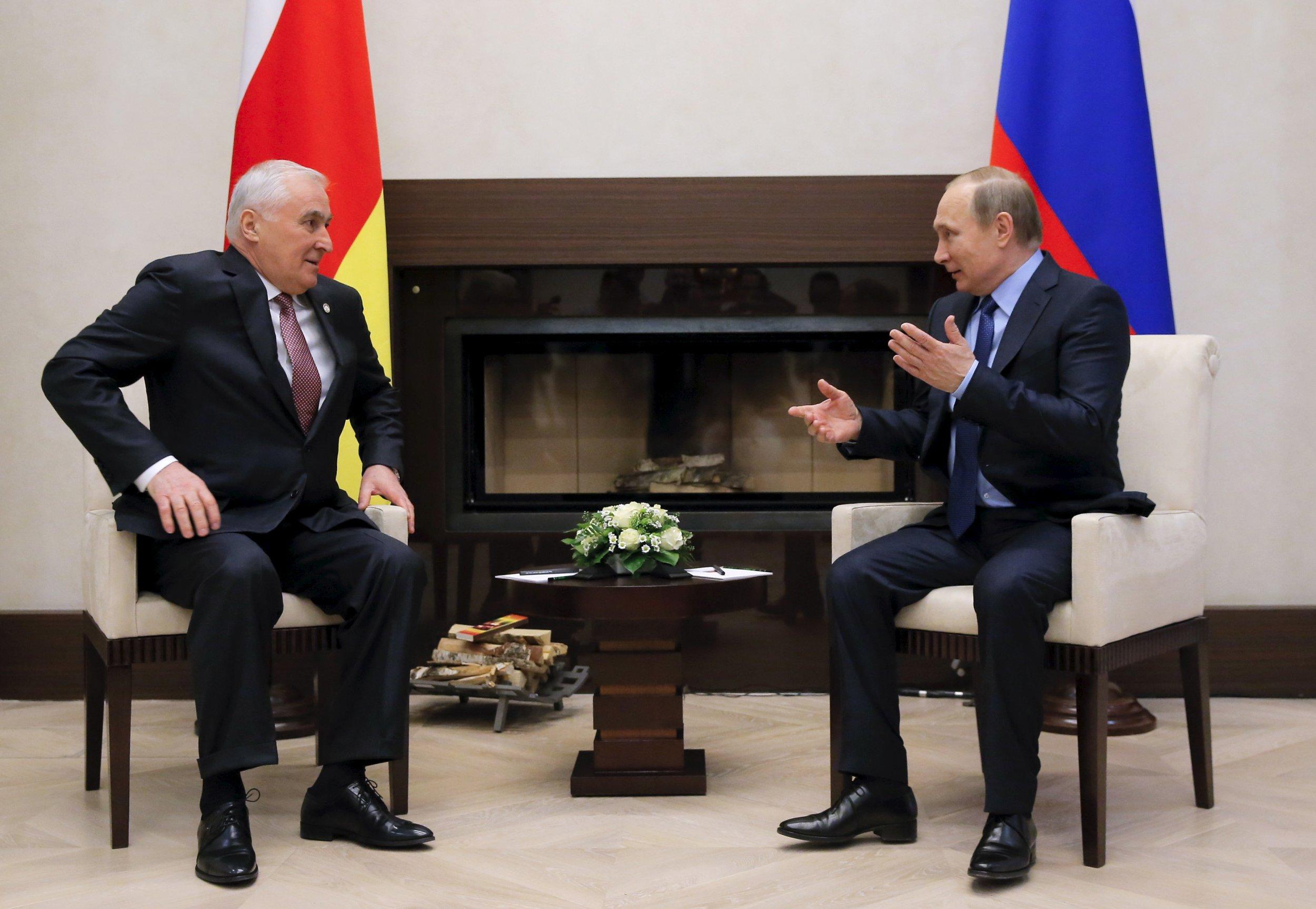 Putin and Tibilov