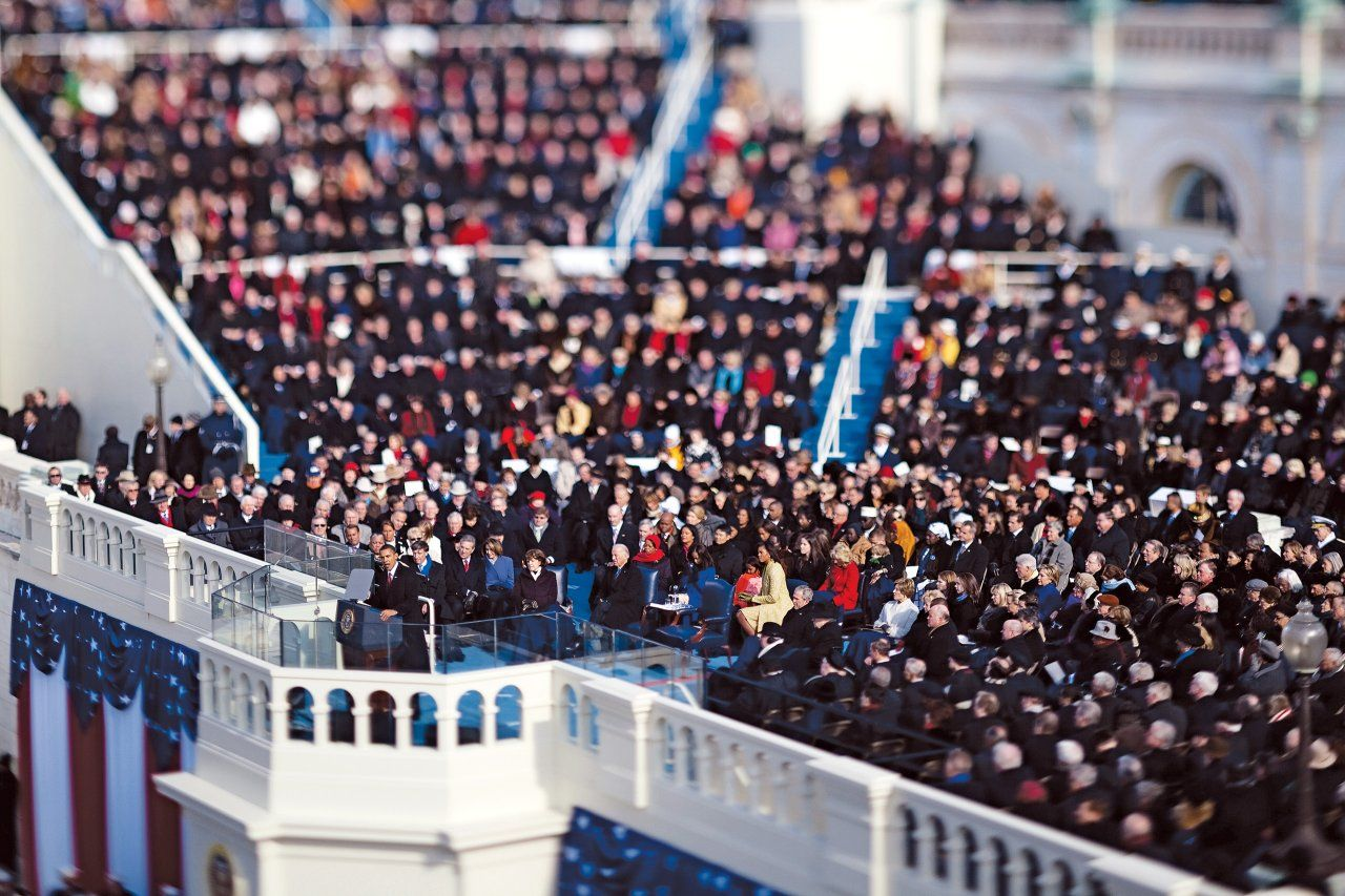 In Second Inaugural Address Can President Obama Reassure