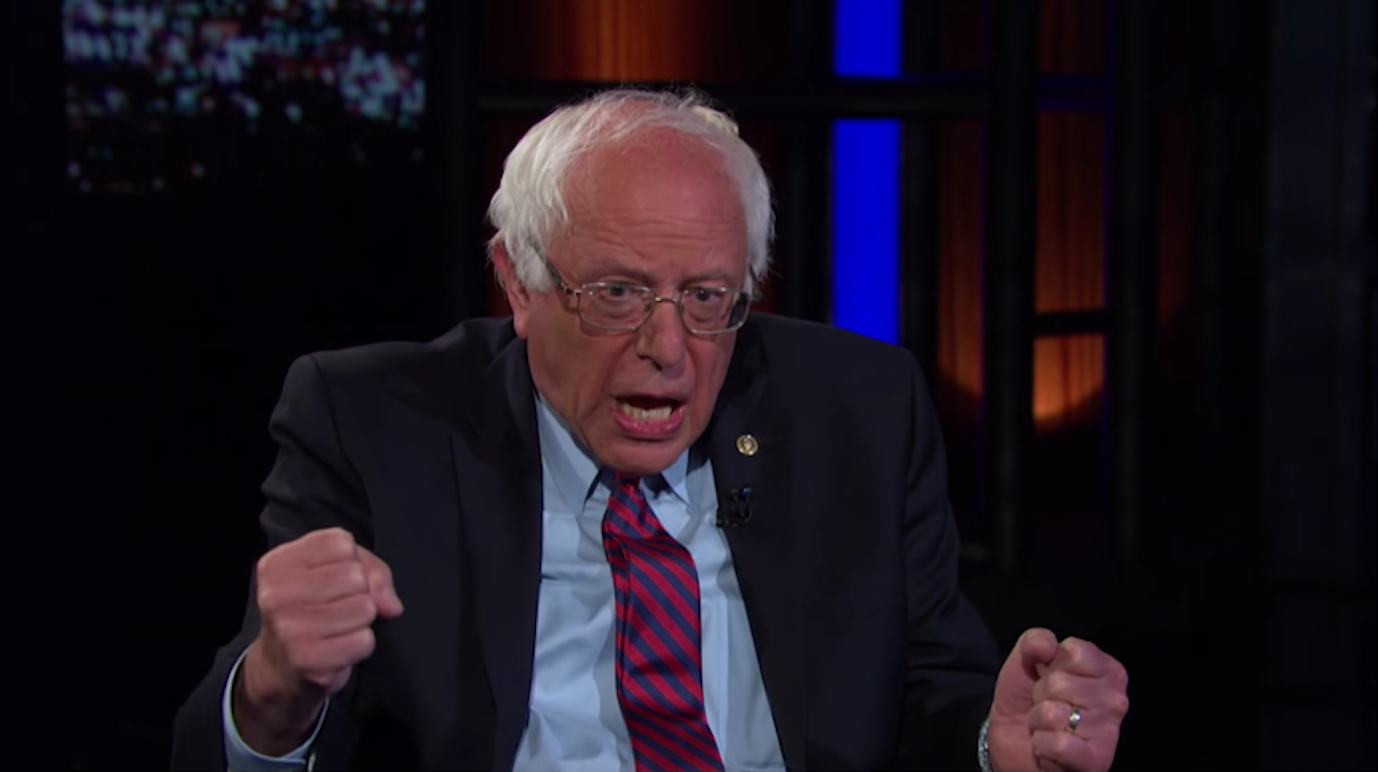 sanders tells bill maher why he has the best chance of beating trump