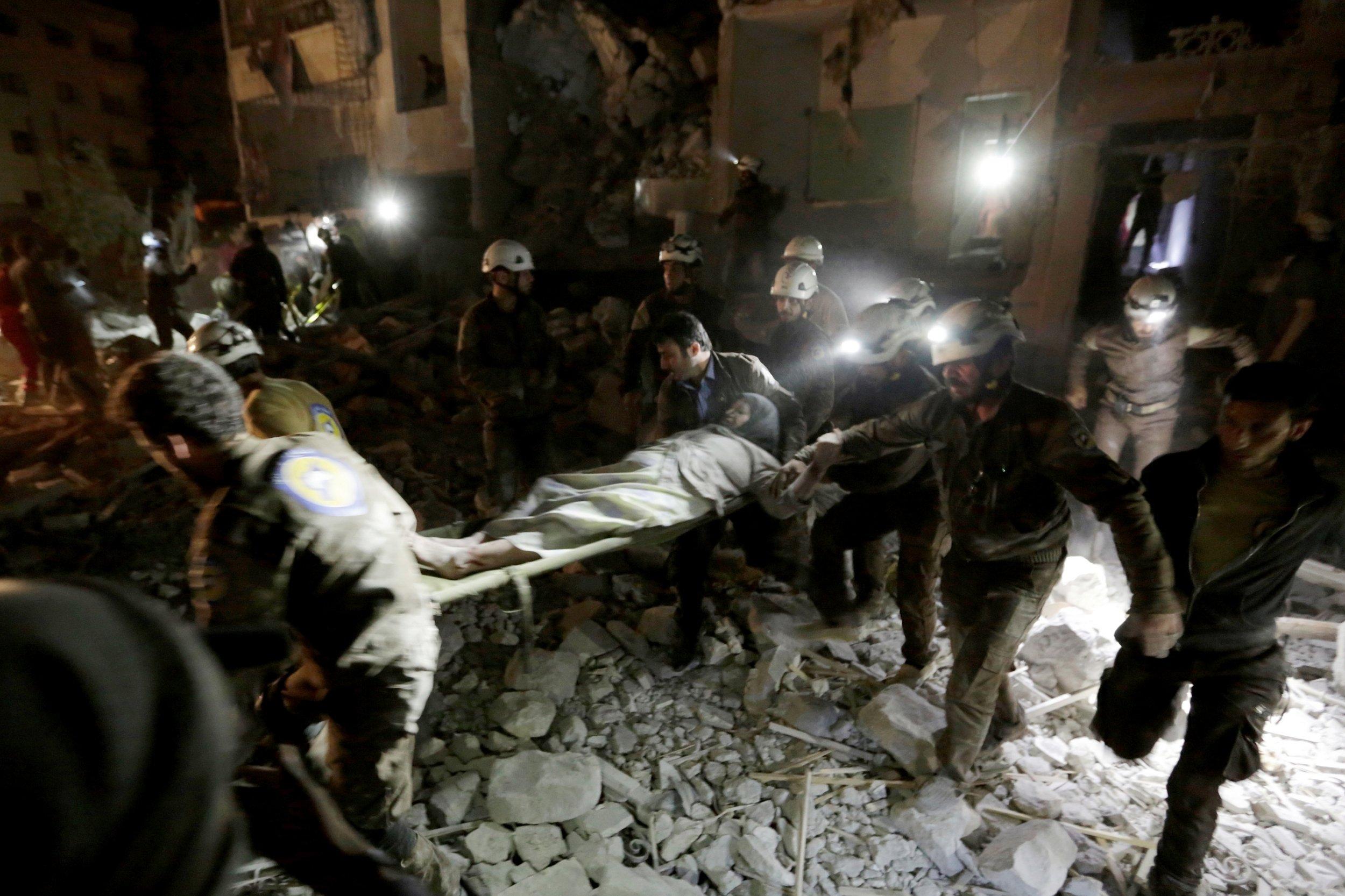 Idlib airstrikes