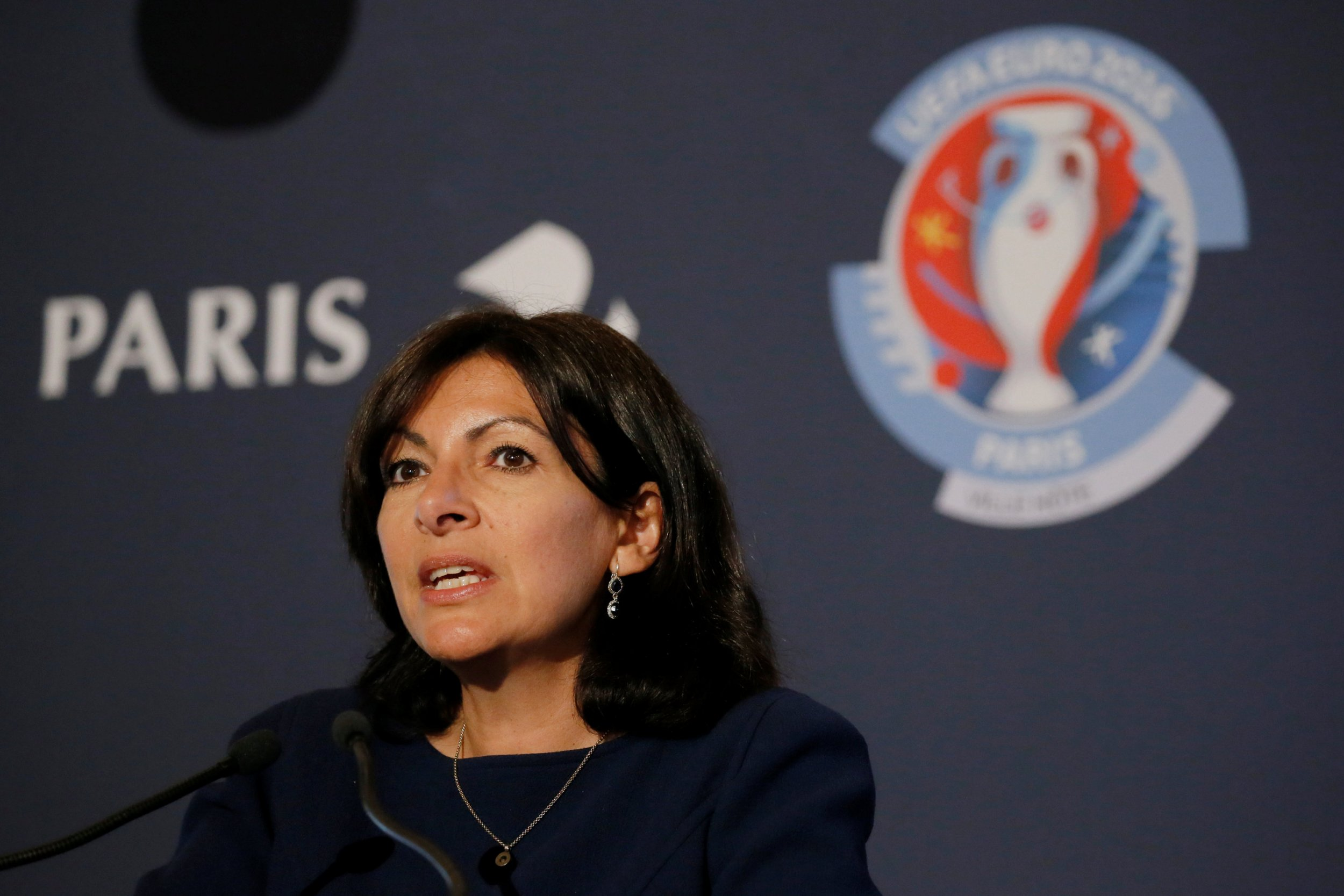 Paris mayor Anne Hidalgo