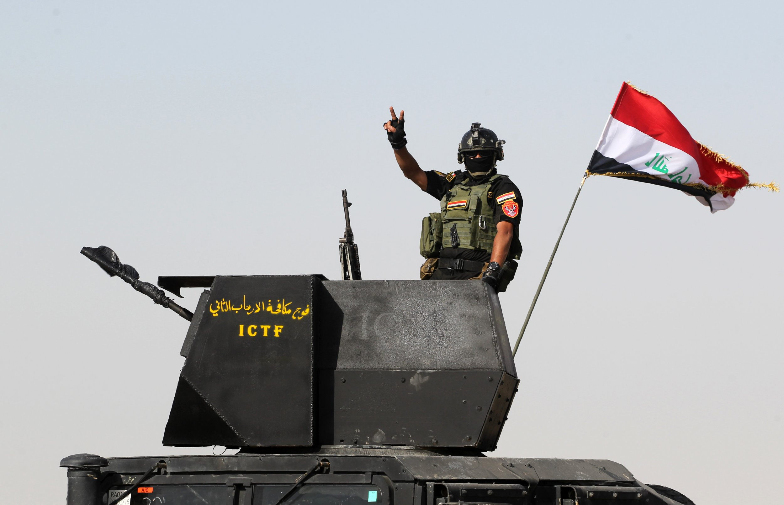 Iraqi forces on outskirts of Fallujah