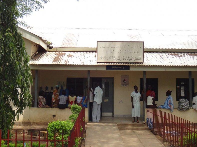 Maternity block at Juba Teaching Hospital