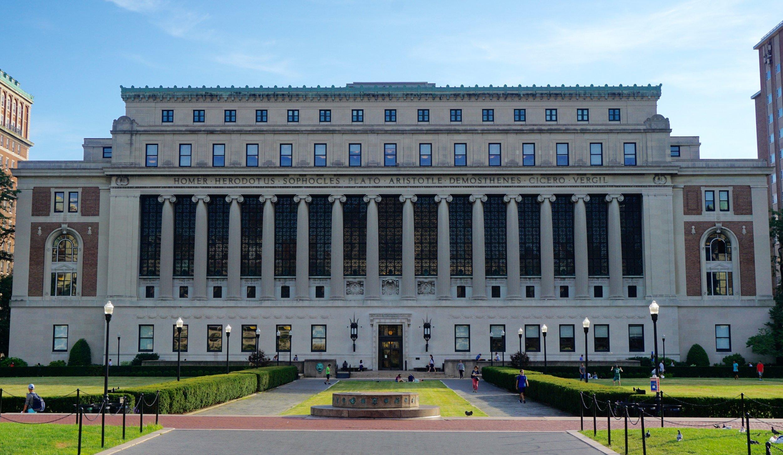 Columbia University hook up piccola città dating scena
