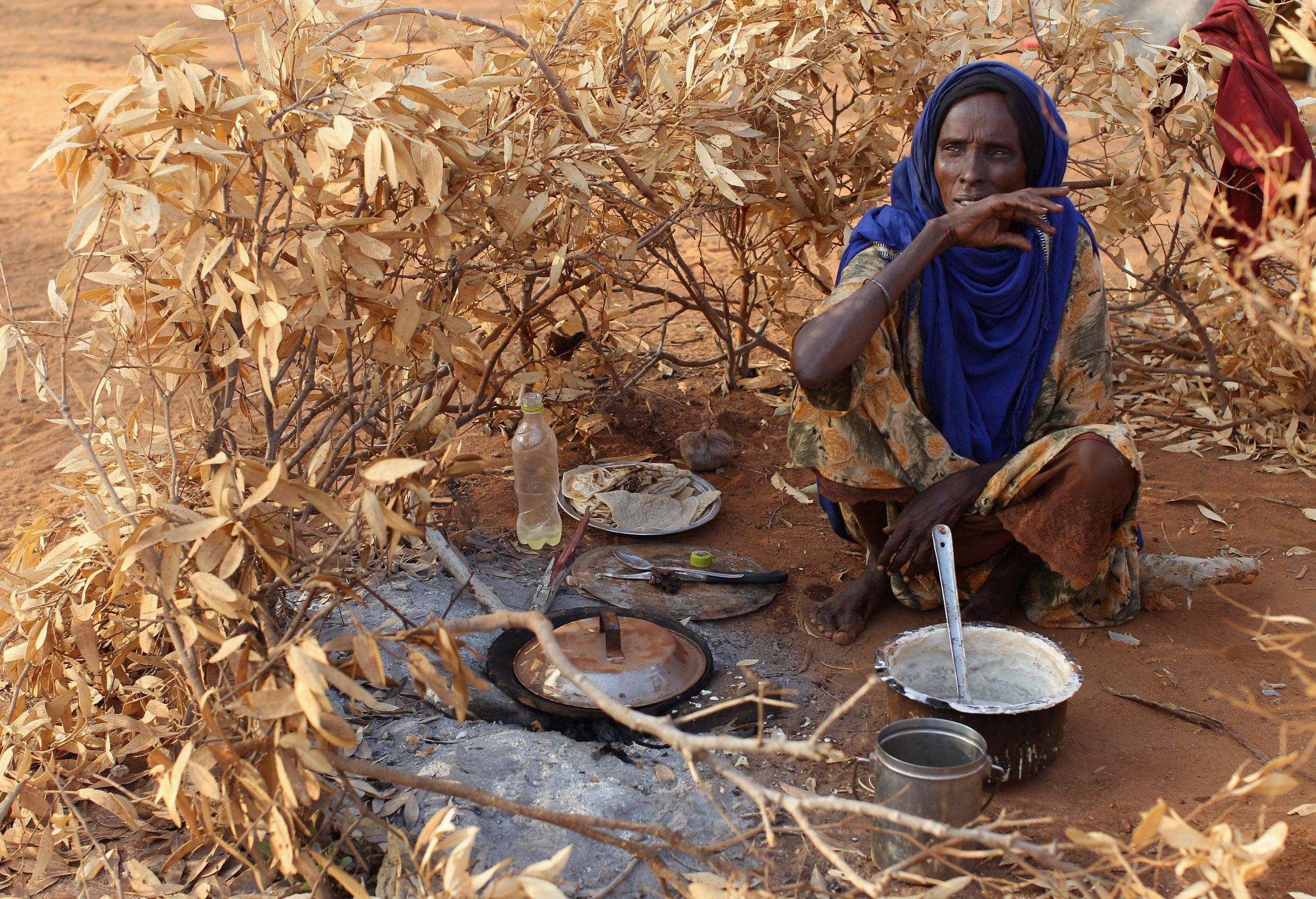 Somali refugee in Dadaab.