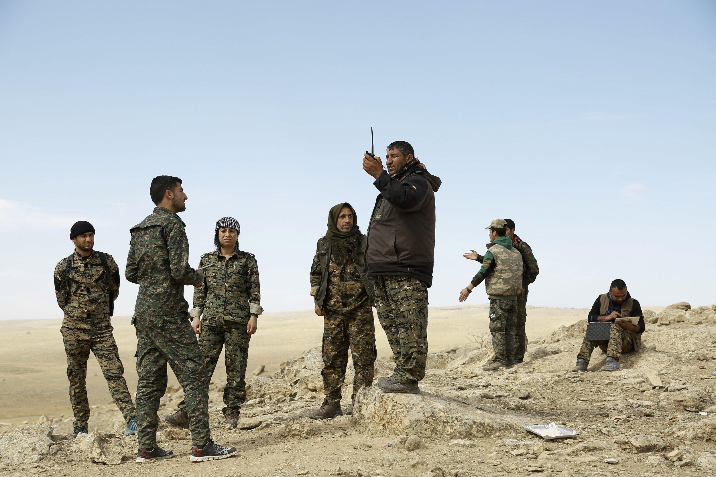 U.S.-backed Syria forces