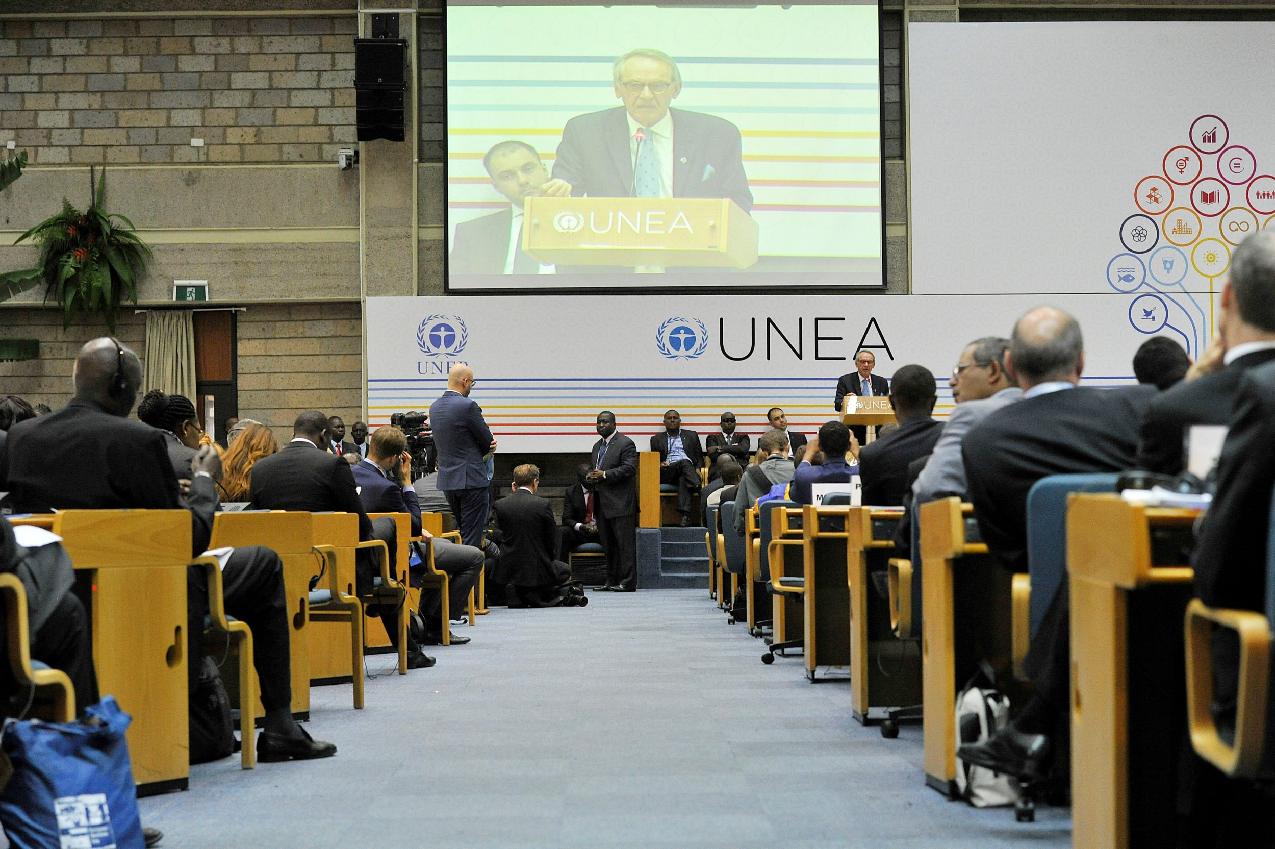 U.N. Environment Assembly in Kenya.